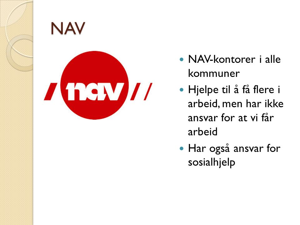 NAV NAV-kontorer i alle kommuner