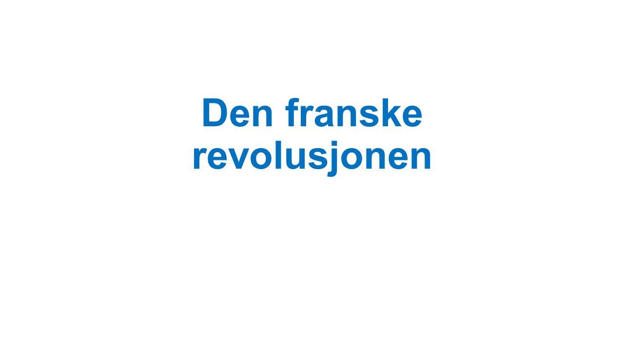 Den franske revolusjonen