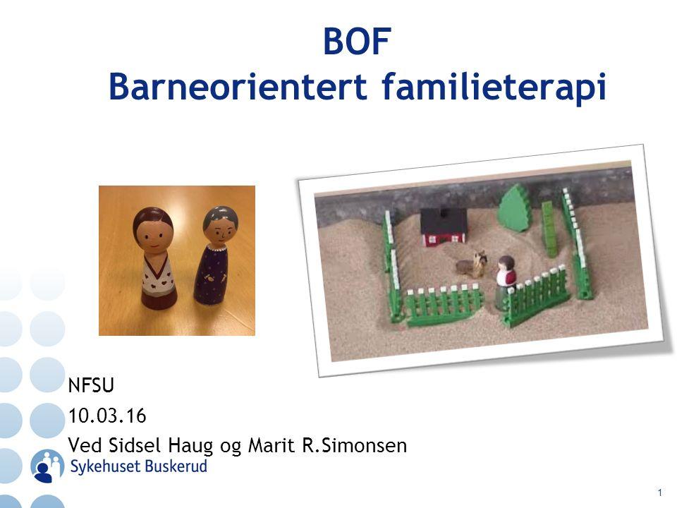 BOF Barneorientert familieterapi