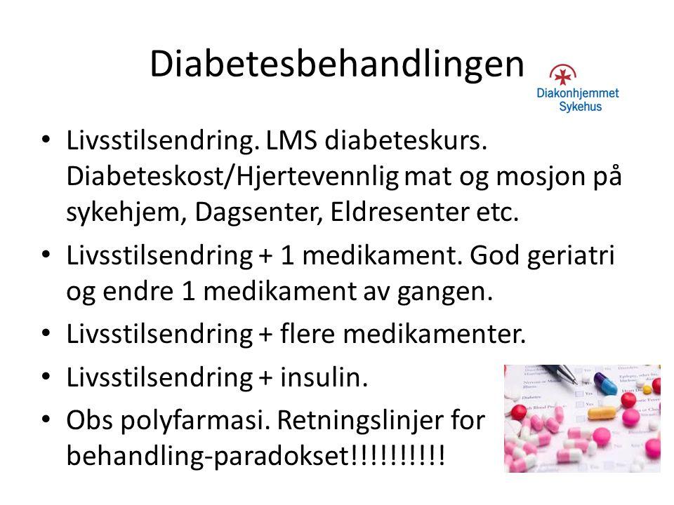 Diabetesbehandlingen