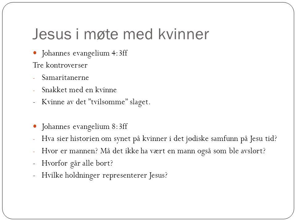 Jesus i møte med kvinner