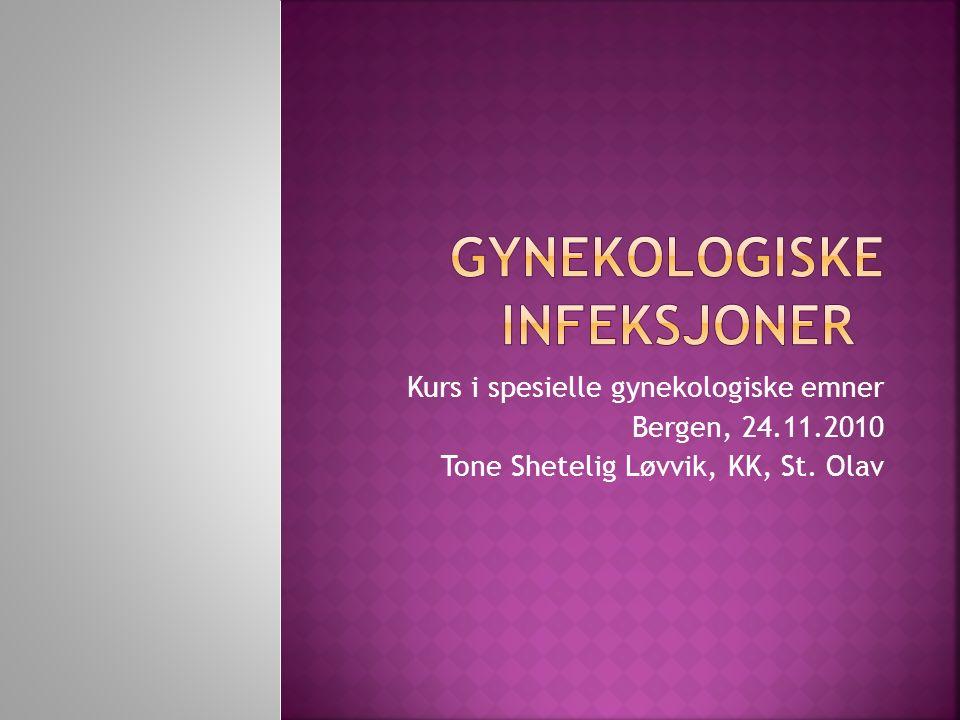 Gynekologiske infeksjoner