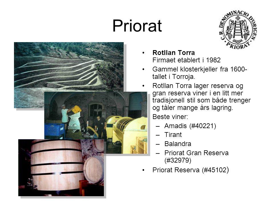 Priorat Rotllan Torra Firmaet etablert i 1982