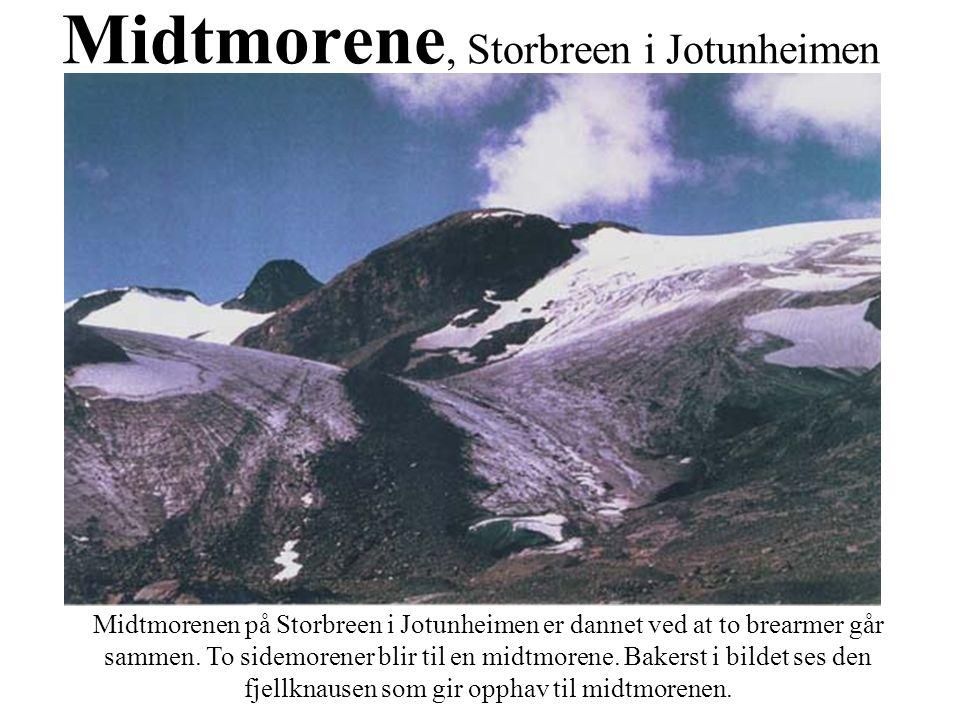 Midtmorene, Storbreen i Jotunheimen