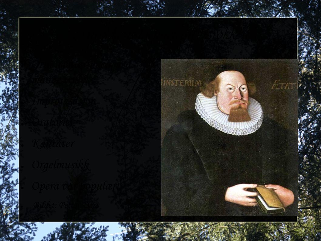 Musikkens kjennetegn barokken