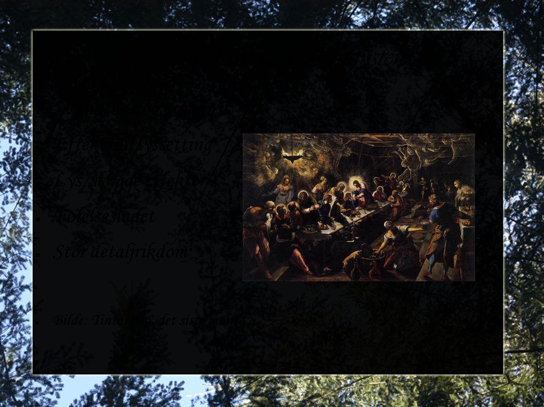 Kjennetegn på malerkunsten
