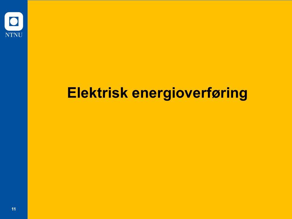 Elektrisk energioverføring