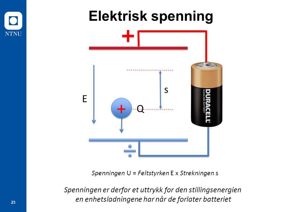 Hva er elektrisk spening