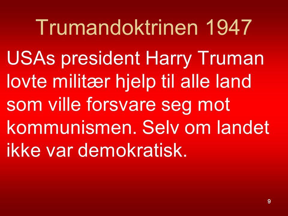 Trumandoktrinen 1947