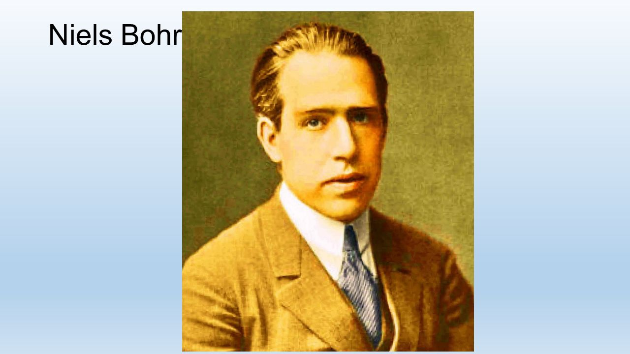 Niels Bohr Lekse til tirsdag/onsdag uke 37: Dansk fysiker.