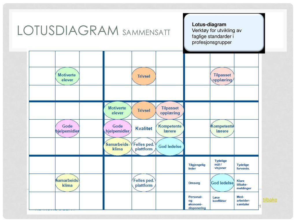 Lotusdiagram sammensatt