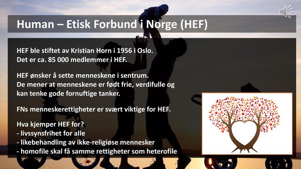 Human – Etisk Forbund i Norge (HEF)