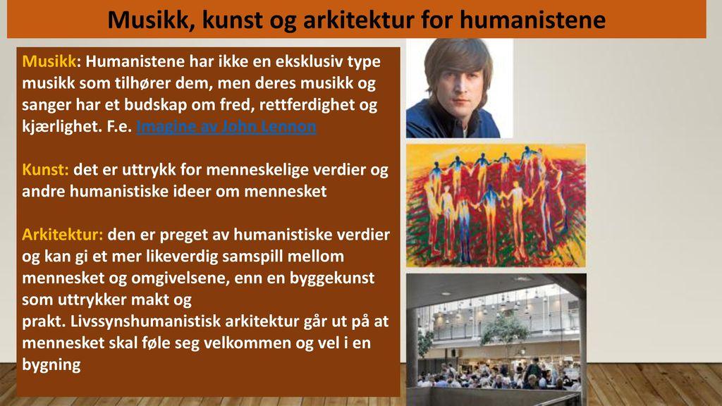 Musikk, kunst og arkitektur for humanistene