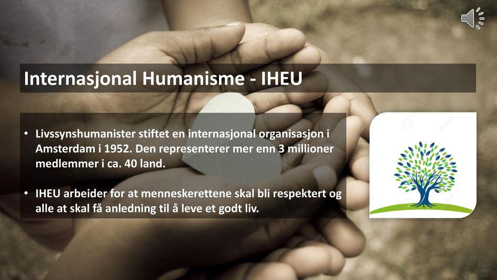 Internasjonal Humanisme - IHEU