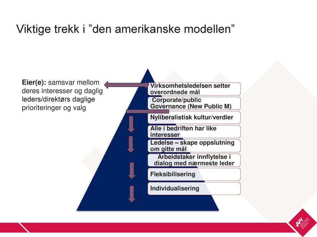 styrker i den norske arbeidslivsmodellen