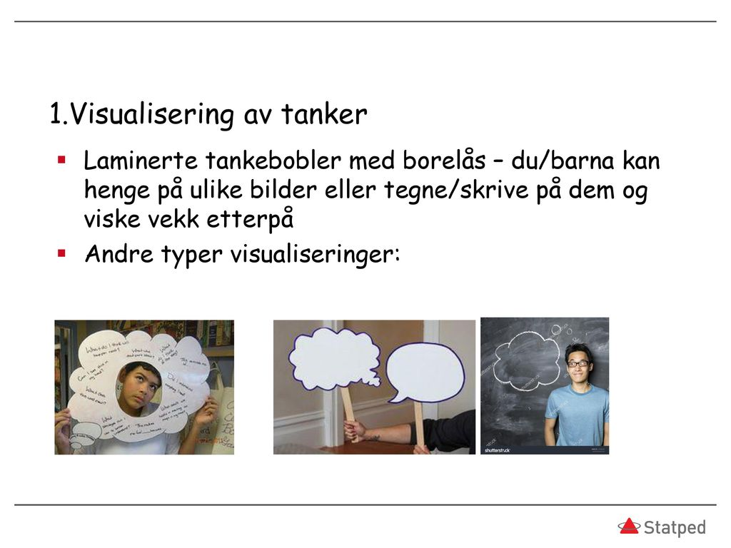 1.Visualisering av tanker