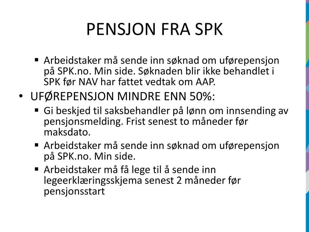 min side nav pensjon