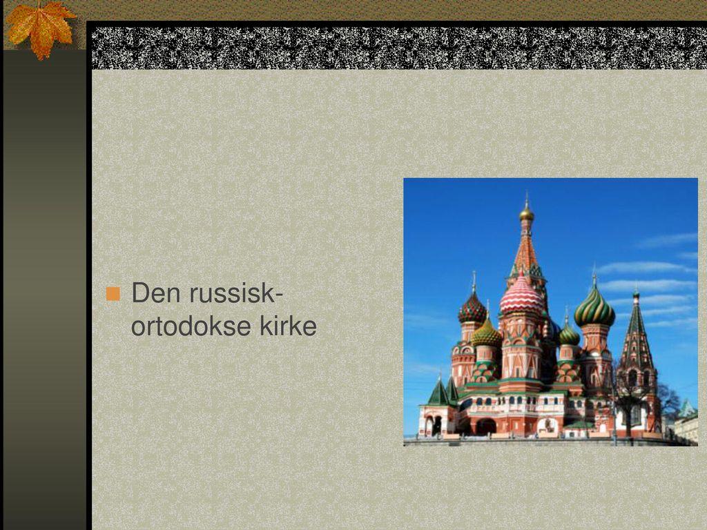 Den russisk-ortodokse kirke
