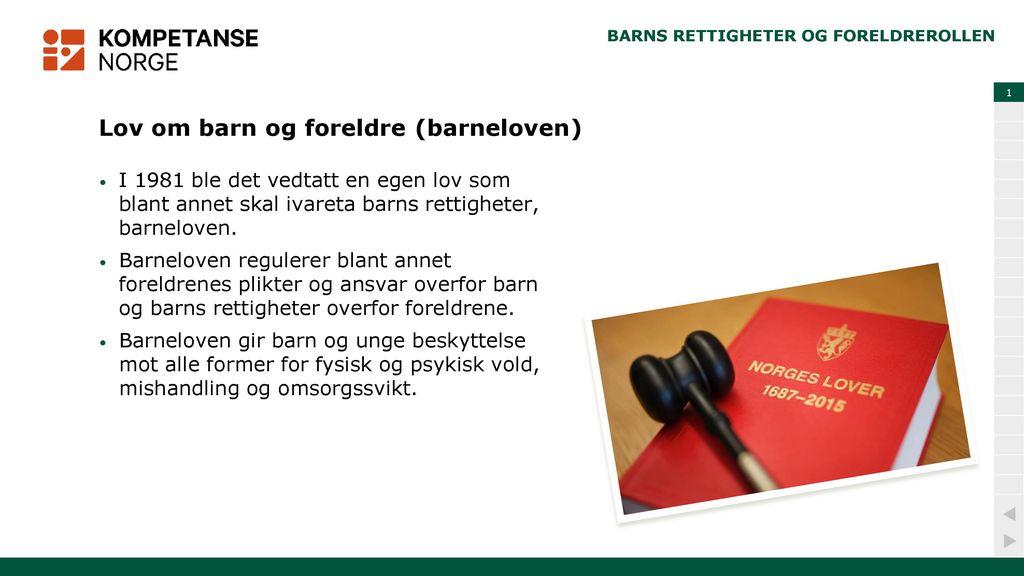 plikter for barn og unge i norge