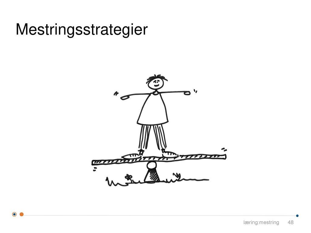 Mestringsstrategier læring:mestring