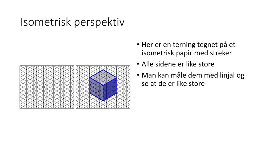 Isometrisk perspektiv
