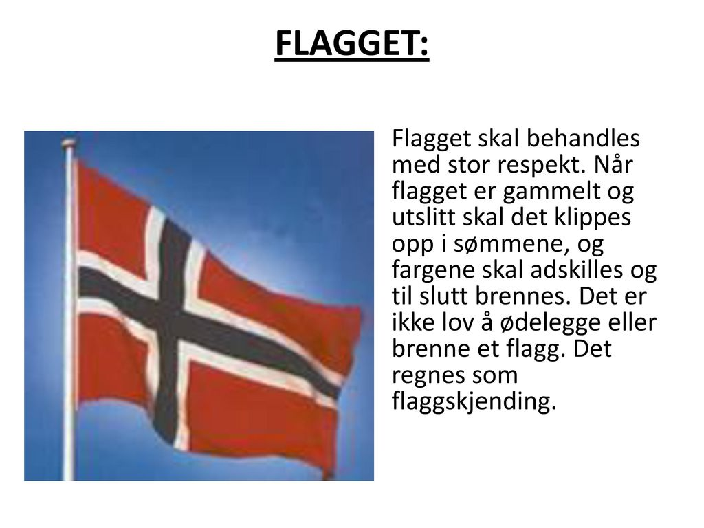 FLAGGET:
