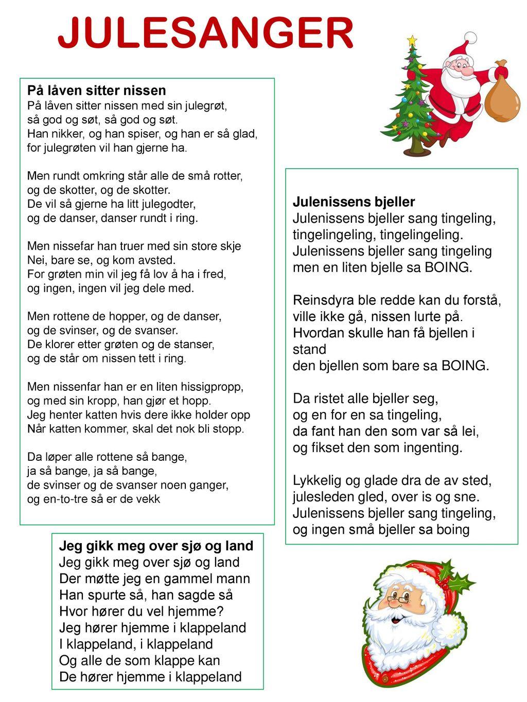 julesanger for barna