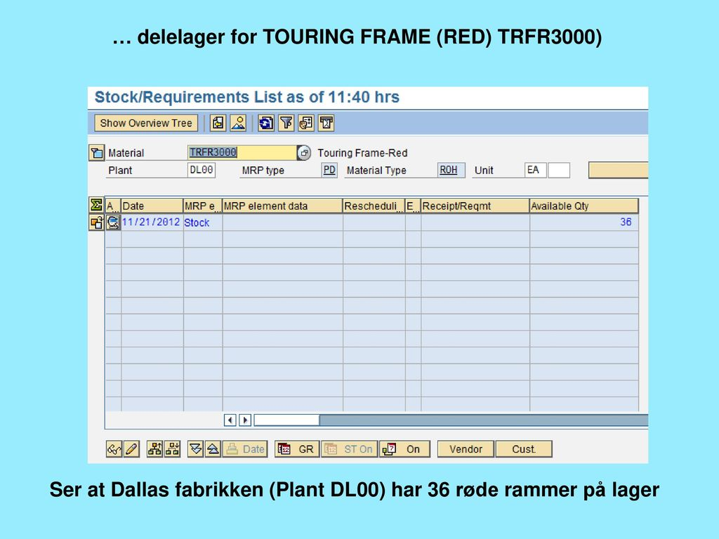 … delelager for TOURING FRAME (RED) TRFR3000)