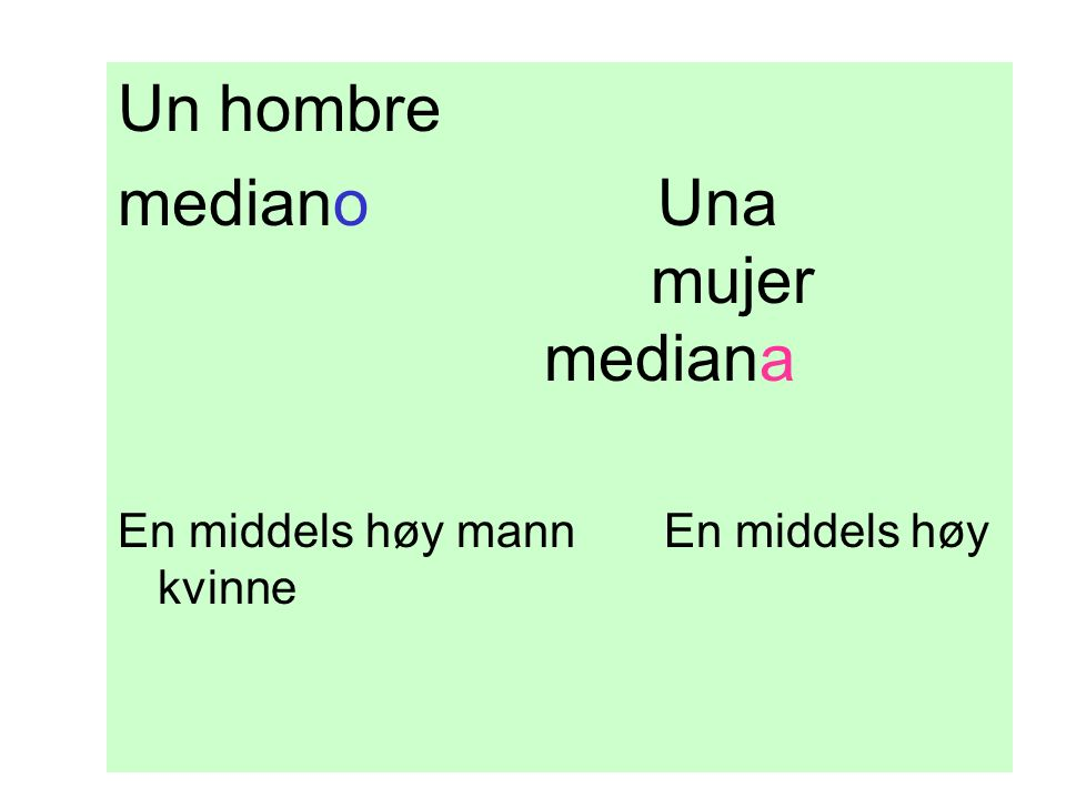 mediano Una mujer mediana
