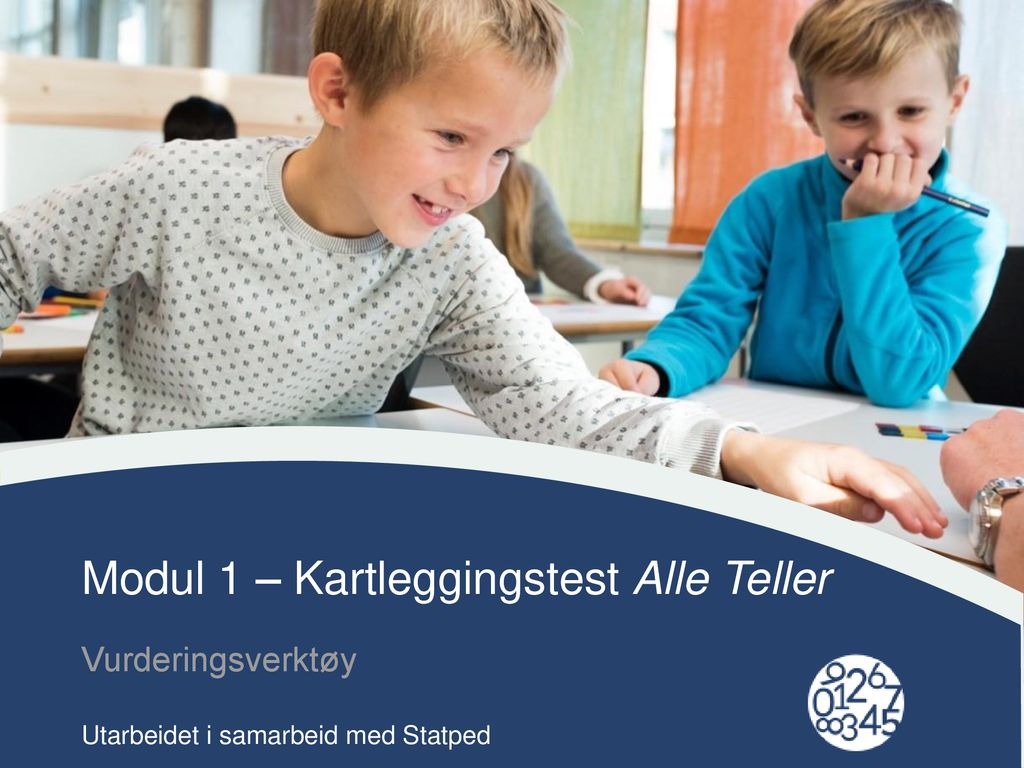 Modul 1 – Kartleggingstest Alle Teller