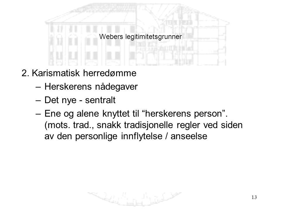 Webers legitimitetsgrunner