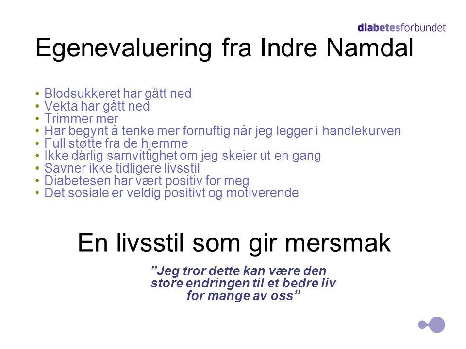 Egenevaluering fra Indre Namdal