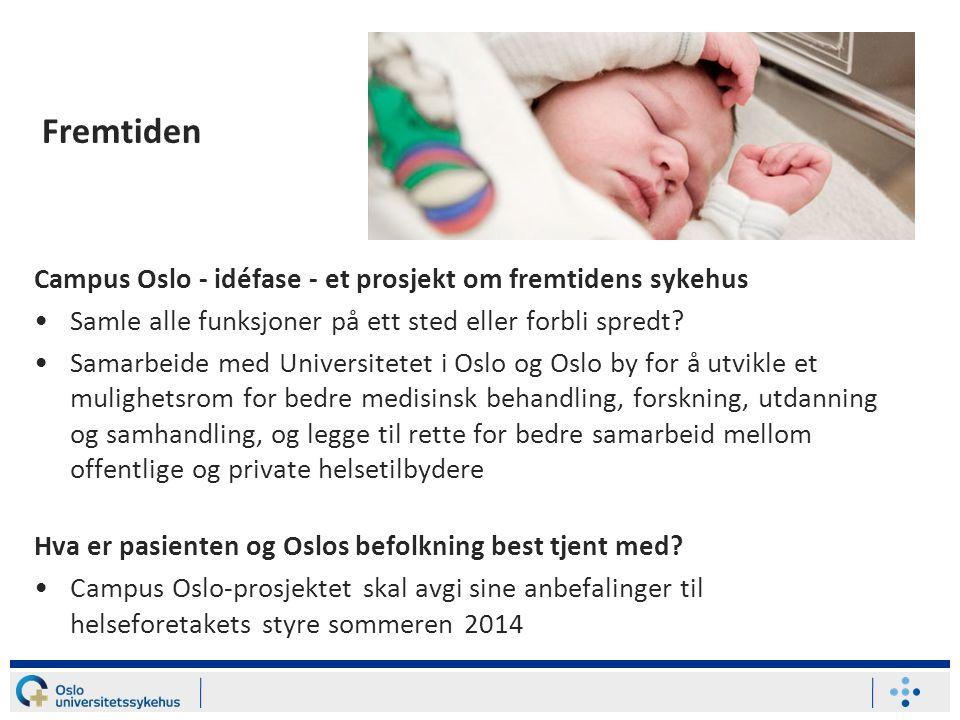 Fremtiden Campus Oslo - idéfase - et prosjekt om fremtidens sykehus