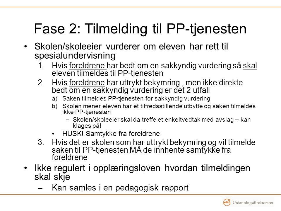 Fase 2: Tilmelding til PP-tjenesten