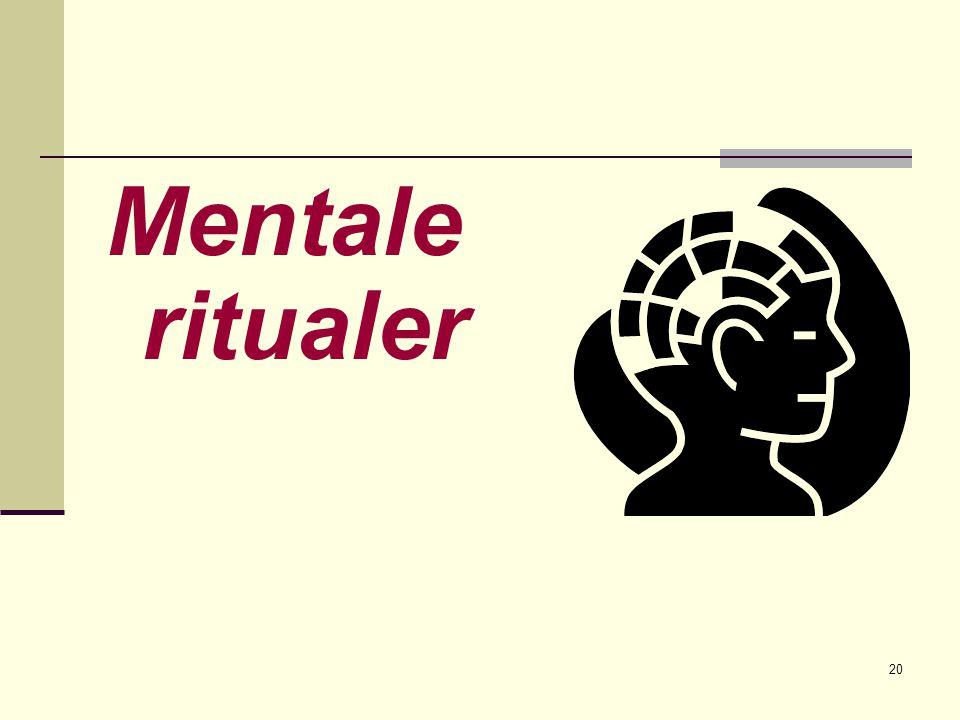 Mentale ritualer