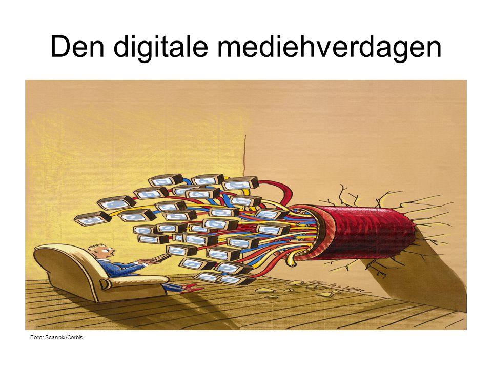 Den digitale mediehverdagen
