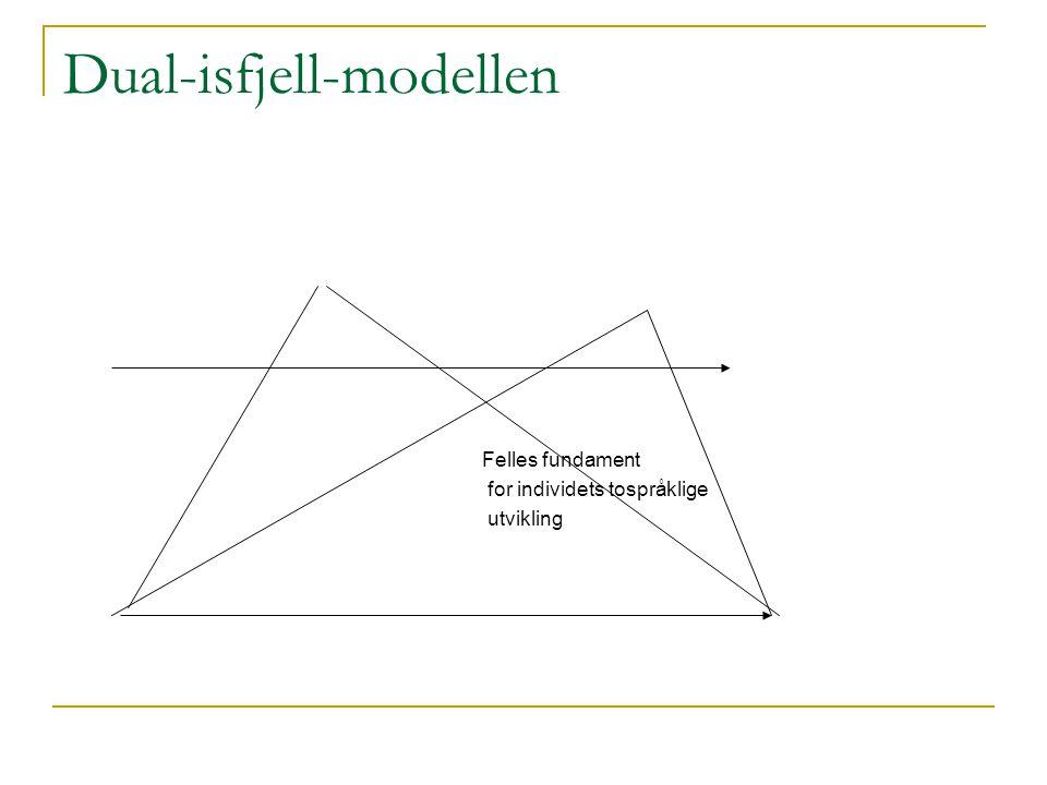 Dual-isfjell-modellen