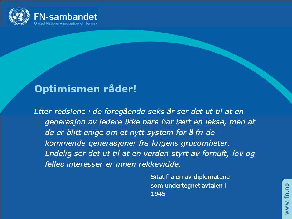Optimismen råder!