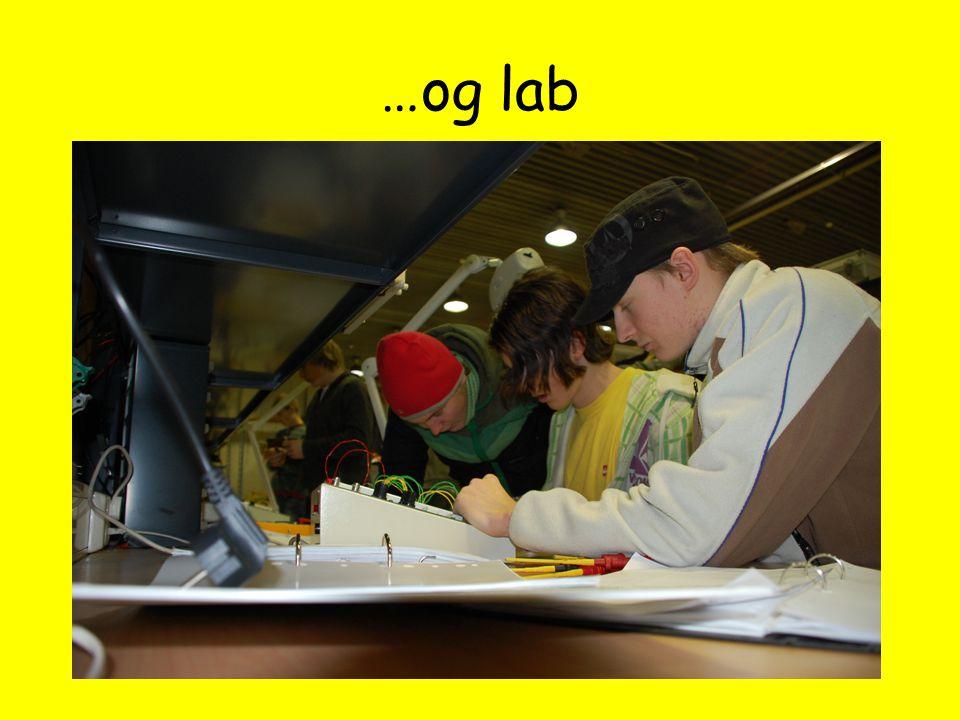 …og lab