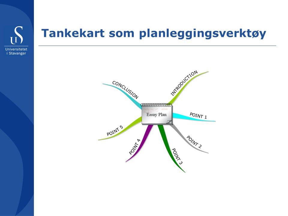 Tankekart som planleggingsverktøy