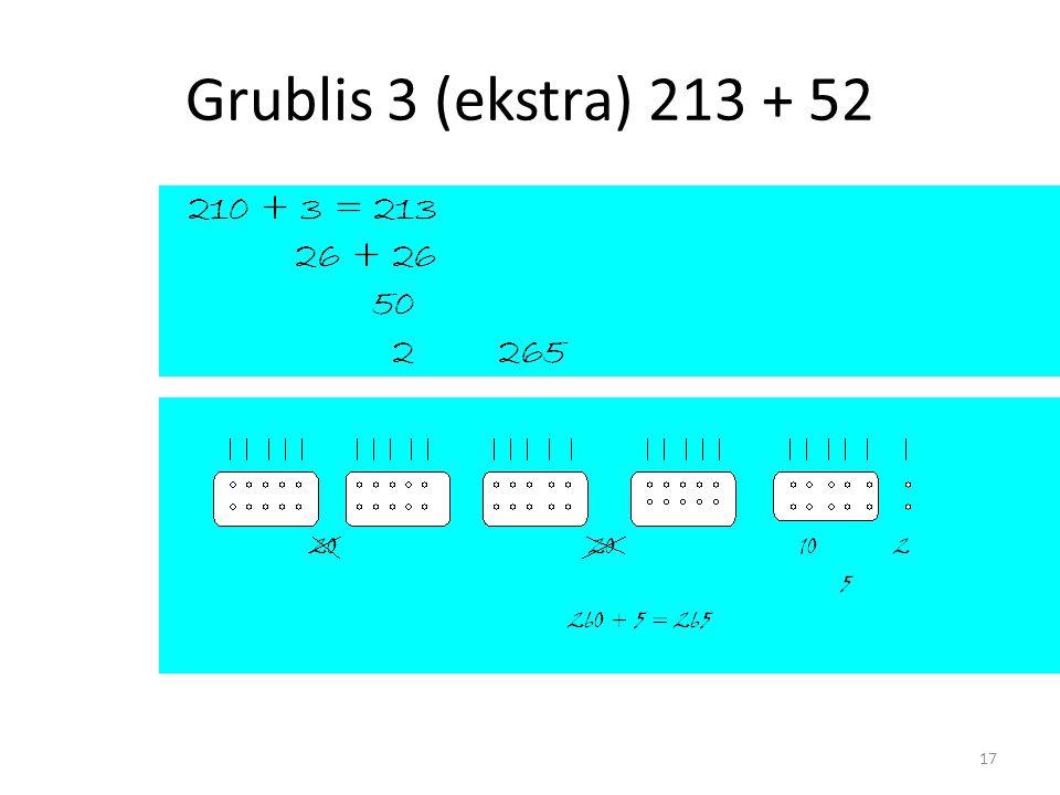 Grublis 3 (ekstra) 213 + 52