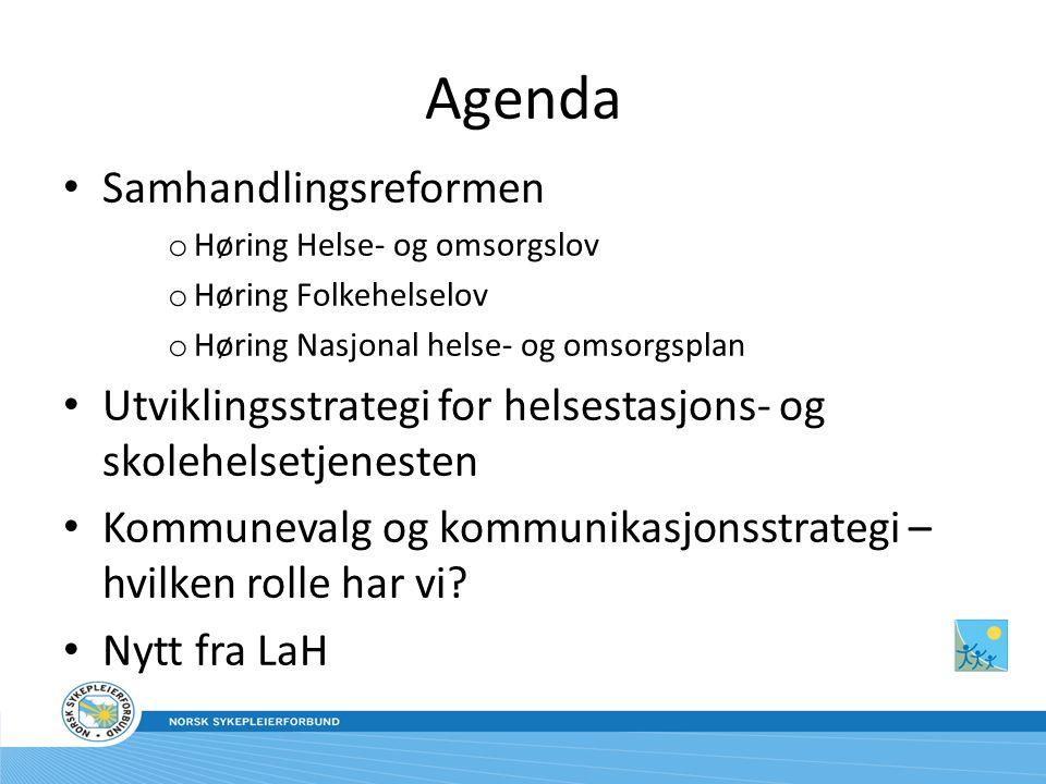 Agenda Samhandlingsreformen