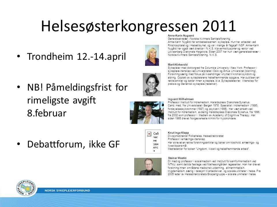 Helsesøsterkongressen 2011
