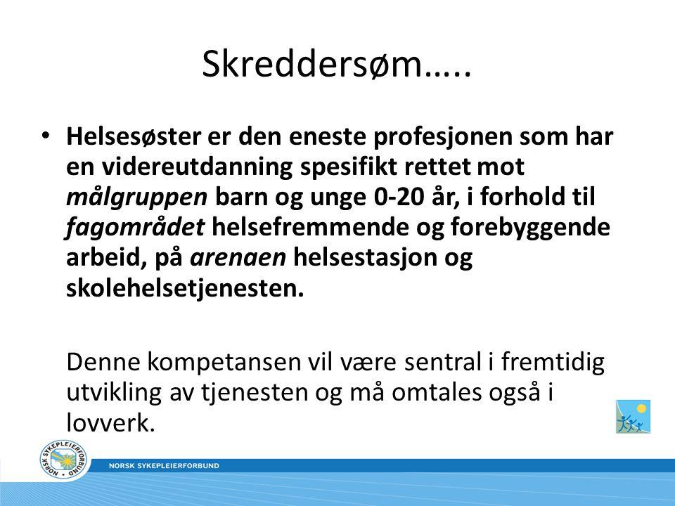 Skreddersøm…..
