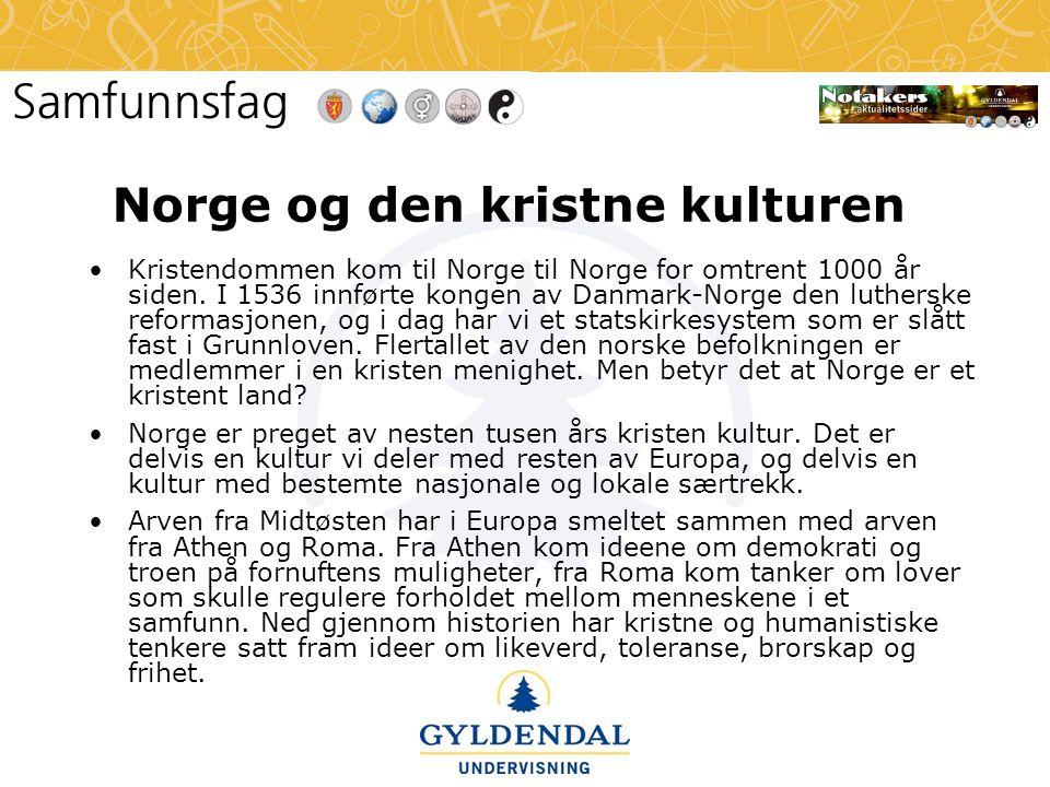 Norge og den kristne kulturen