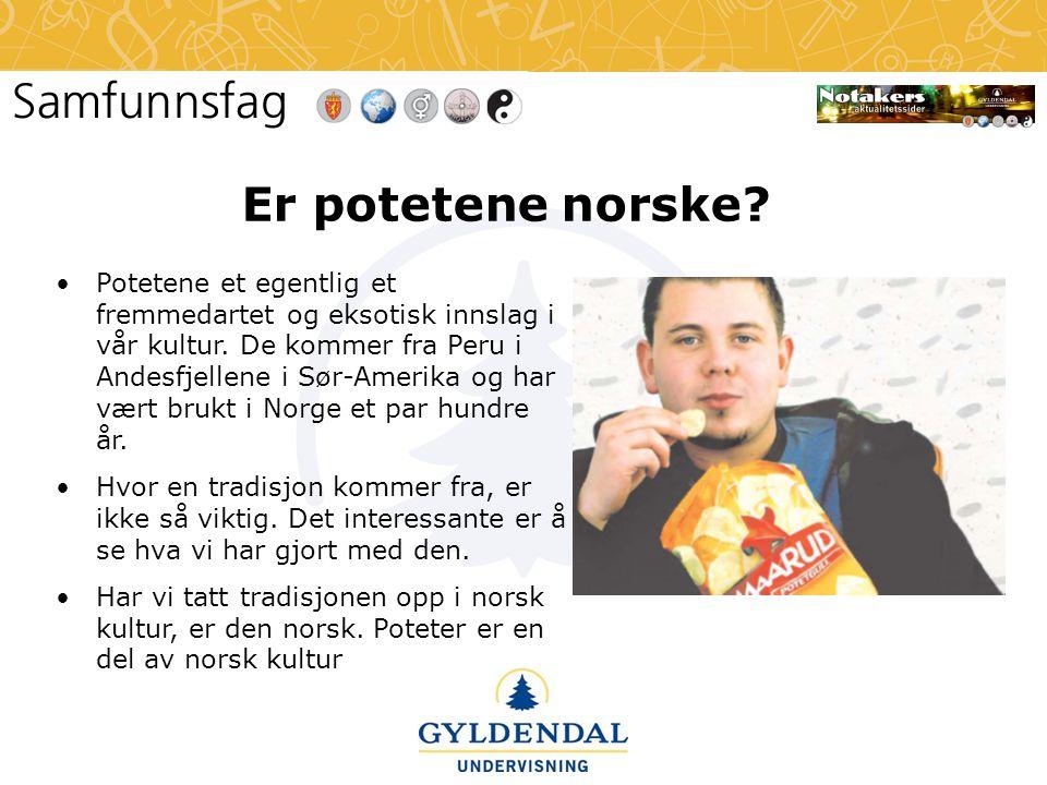 Er potetene norske