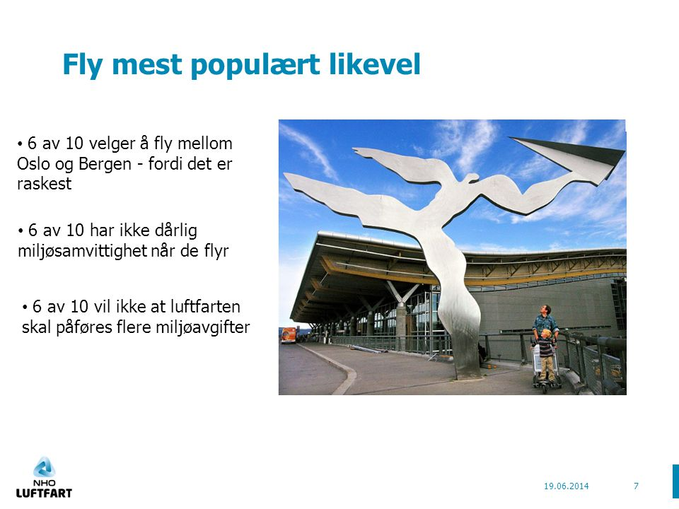 Fly mest populært likevel