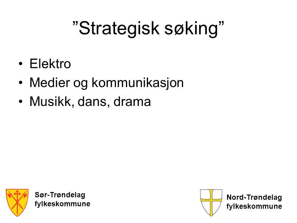 Strategisk søking Elektro Medier og kommunikasjon
