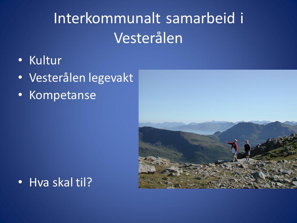 Interkommunalt samarbeid i Vesterålen