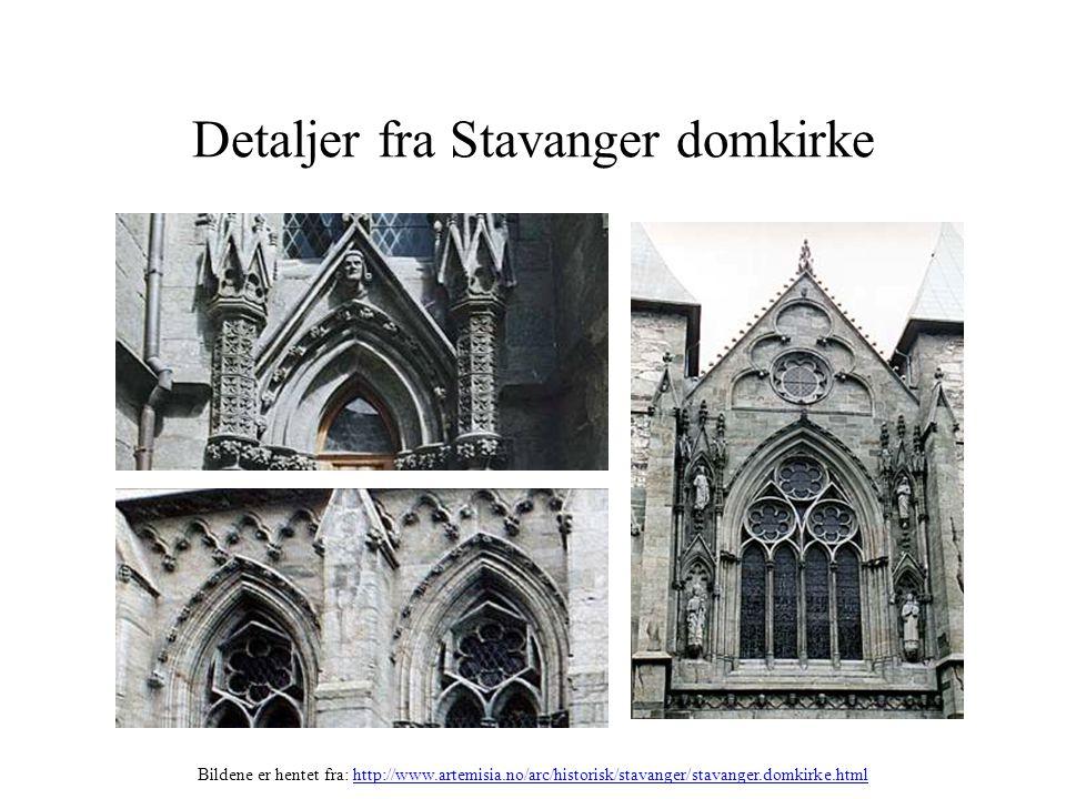 Detaljer fra Stavanger domkirke